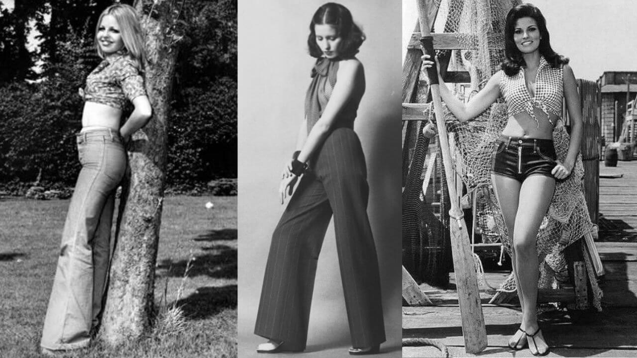 pantaloni anni '70
