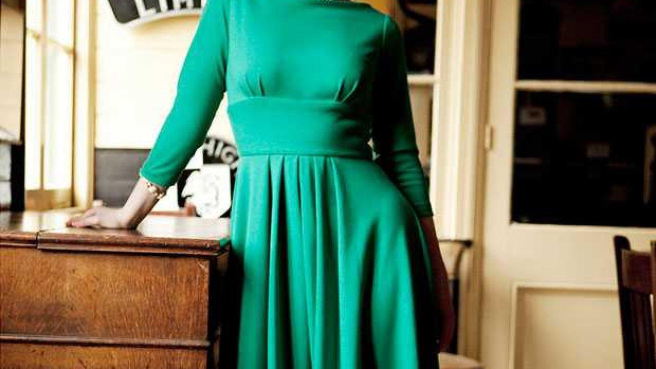 on sale 93c41 07e2d Vestiti anni 50 a maniche lunghe » abbigliamento vintage
