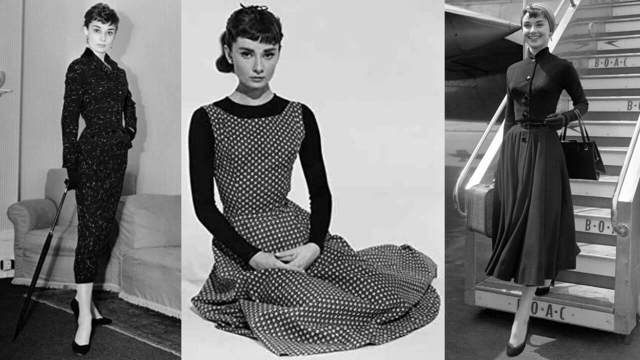 vestiti invernali anni '50